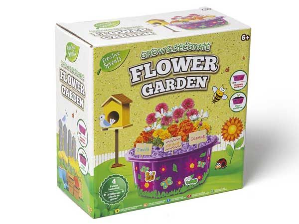Grafix Grow And Paint Your Own Flower Garden  (gfd)