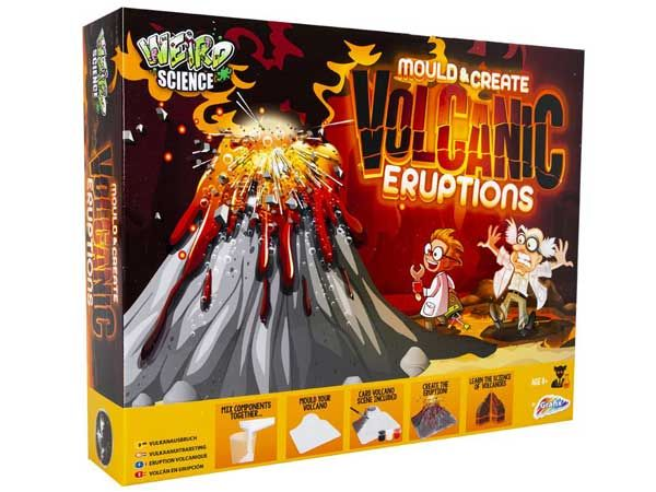 Weird Science - Create Volcano Eruptions Science Kit