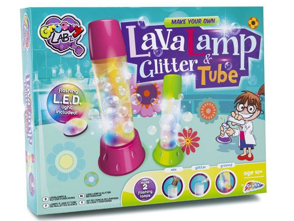 Groovy Labz - Make Your Own Lava Lamp And Glitter Tube