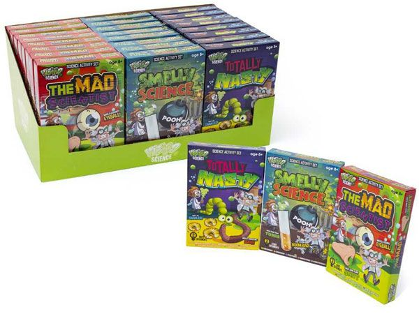 24x Weird Science  - Science Sets