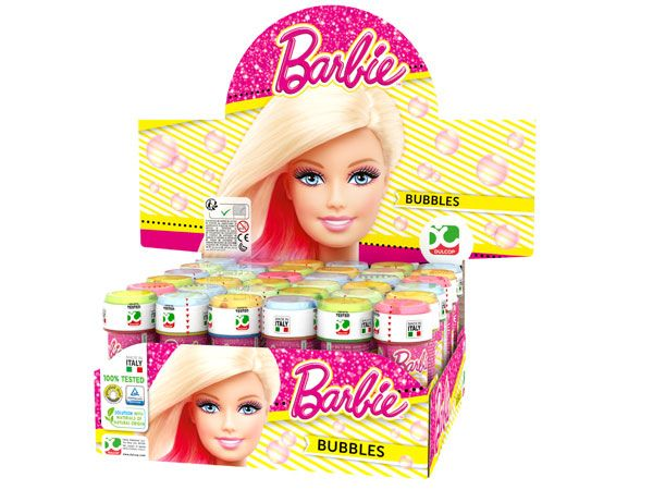 36x BARBIE Game Top Bubbles