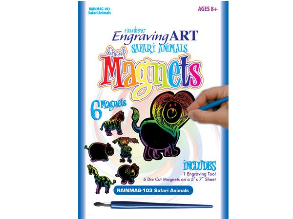 Royal and Langnickel- Magnets Engraving Art Kit, Animals Design