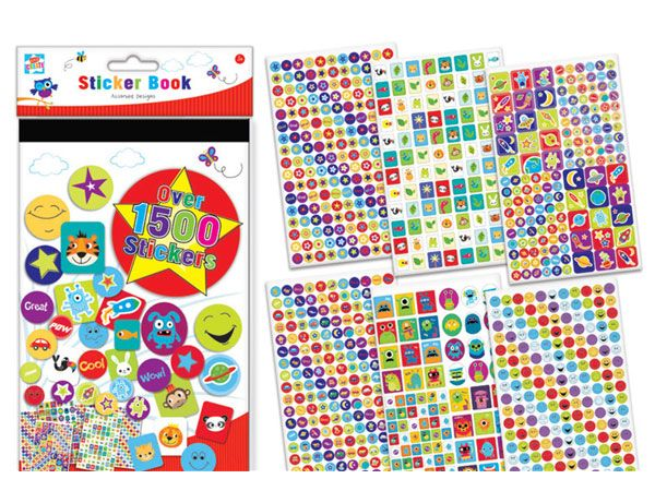 Kids Create Over 1500 Stickers