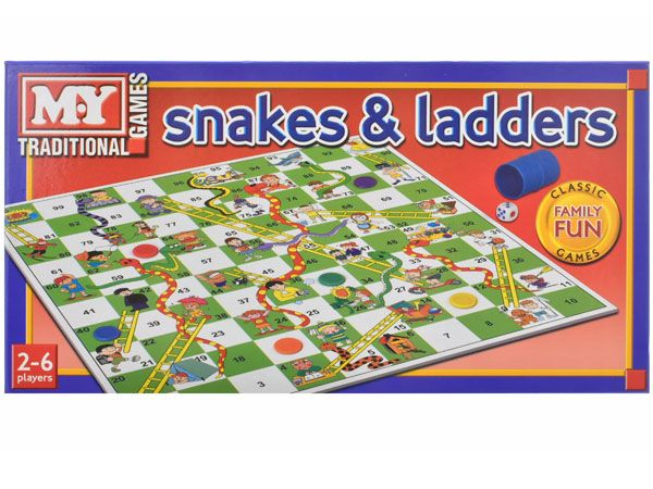 MY Traditional Games - Snakes And Ladders