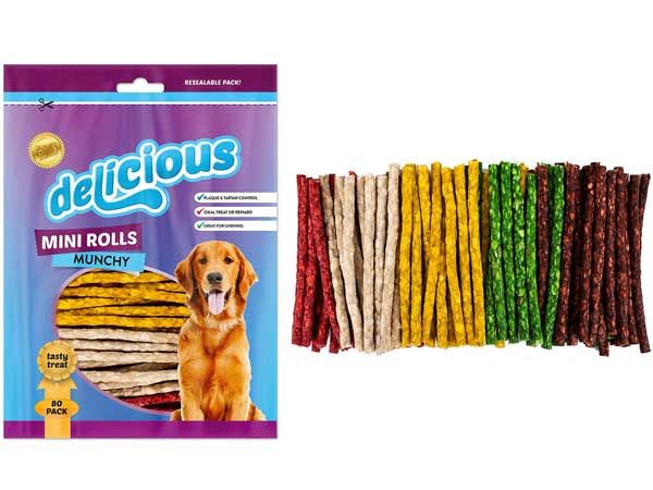 World Of Pets - Delicious 80 Pack Munchy Stick
