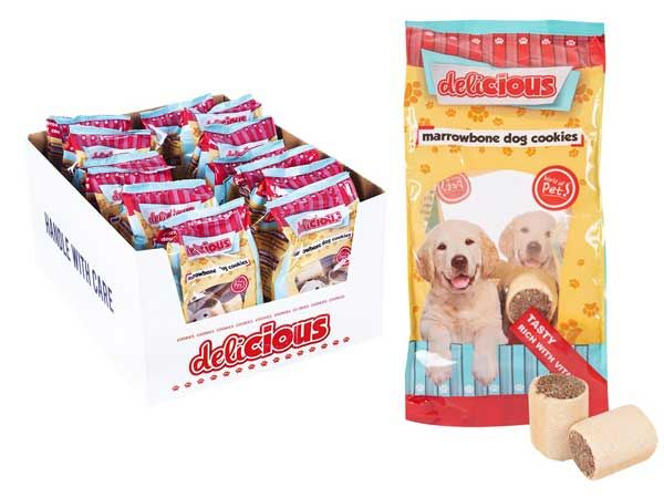 World Of Pets - Delicious Marrowbone Dog Cookies
