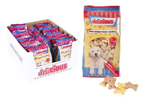 World Of Pets - Delicious Mini Puppy Bone Cookies