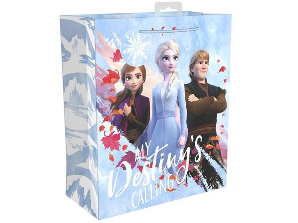 6x DISNEY Frozen 2 Large Gift Bag  (wsx)
