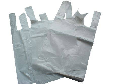 100pk Large  Carrier Bags 13x19x23