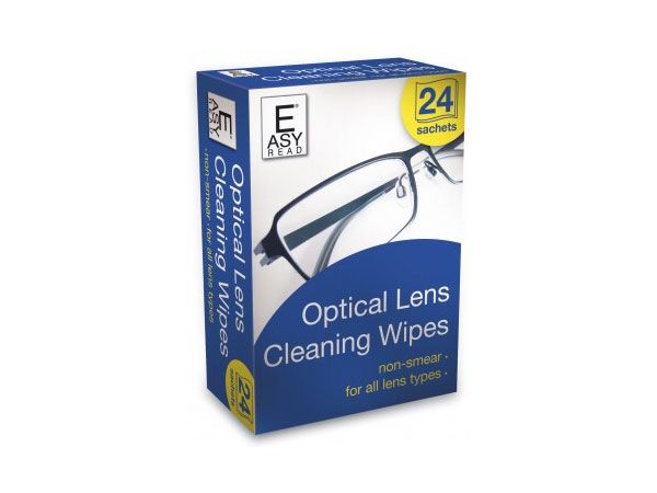 East Read 24pk Optical Lens Cleaning Wipes, by 151 Products