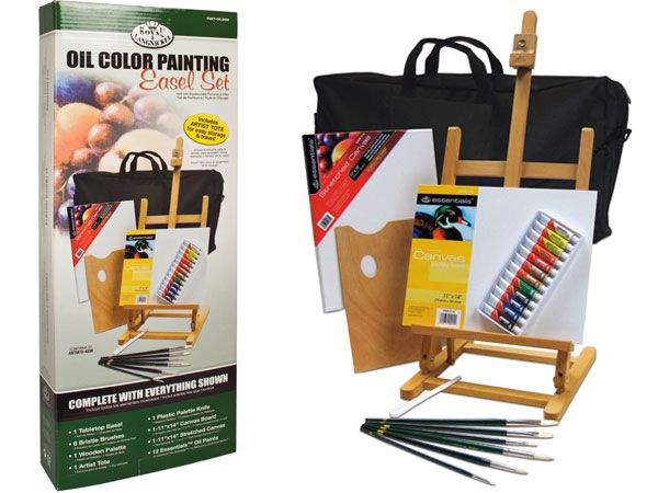 Royal and Langnickel  - Oil Painting Easel set...RRP 73.79..WEB SPECIAL