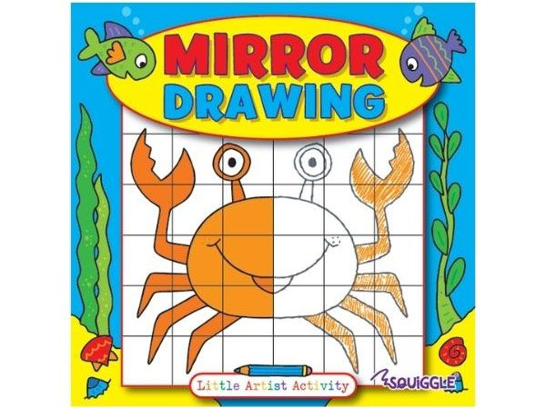 Squiggle - Mirror Drawing Activity Book