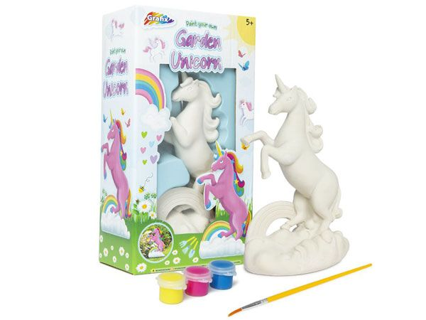 Grafix Paint Your Own Garden Unicorn