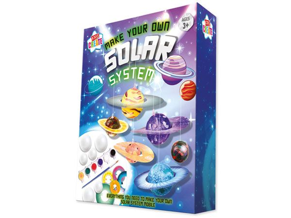 Kids Create Make Your Own Solar System