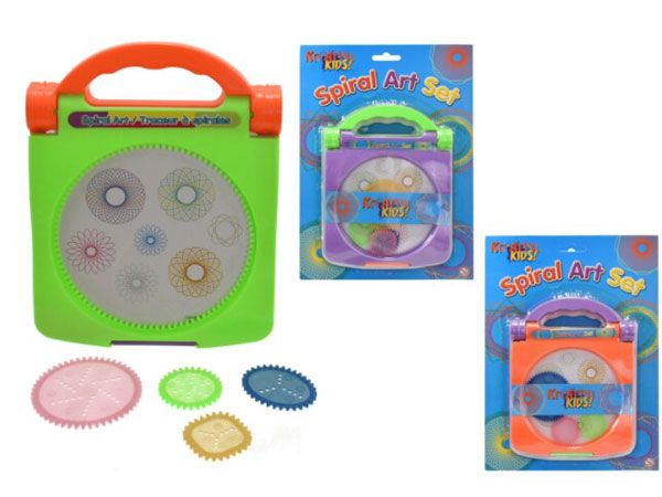 Kreative Kids Spiral Art Set