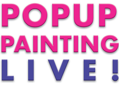 Popup Painting Live